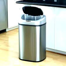 mini stainless steel trash can small trash can mini size of full kitchen cans best with locking lid the best kitchen trash cans stainless steel countertop