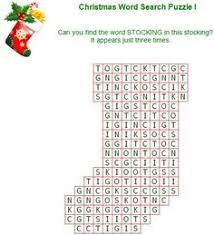 Small Picture Printable Christmas word puzzles December Pinterest
