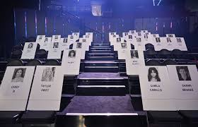Mtv German Charts Mtv Vmas 2019 Seating Chart Revealed With Taylor Swift