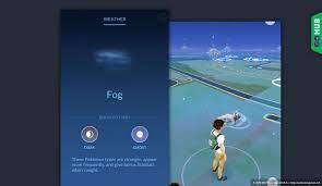 Pokemon Go Weather Chart Fog Weather In Pokemon Go Pokemon Go Hub