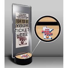 Basketball Display Stand Walmart Beauteous 32 Final Four Ticket Display Stand Duke Blue Devils Walmart