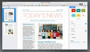 newsletter template for pages pages 6 upgrade report keynotepro