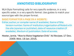 Annotated Bibliography Website Sample annotated Bibliography Mla Format  Templates       png