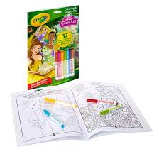 Small Picture Crayola Coloring and Activity Pad 32pgs 7 Mini Markers Disney