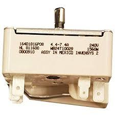 amazon com whirlpool 3149400 infinite switch for range home ge wb24t10029 electric range infinite switch 6 inch