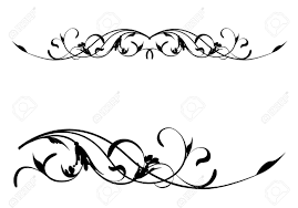 Scroll Border Designs Scroll Design Vector At Getdrawings Com Free For Personal