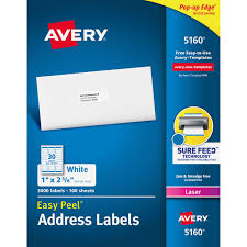 avery 1 x 2 5 8 template ave5160