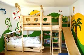 kids loft bed with slide. Kids Loft Bed Slide Attractive Bunk With And Desk