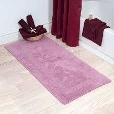 cotton bath mat plush percent long bathroom runner reversible soft non slip argos extra long bath mat non skid