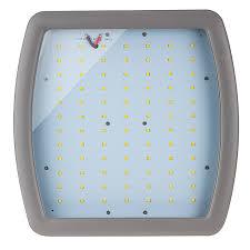 100 watt hazardous location class 1 division 2 led light front view