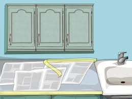 Painted Oak Cabinets How To Paint Oak Cabinets 15 Steps With Pictures Wikihow