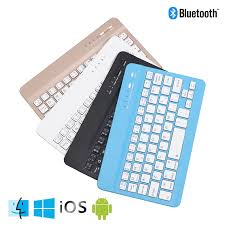 New Wireless Bluetooth Laptop Keyboard Ultra Slim 7.9 in 59 Keys  Rechargeable Portable Keypad For iPad iOS Android Windows PC|Keyboards