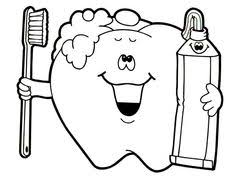 coloring pages of teeth. Fine Pages Dental Health  Brush Your Teeth For Health Coloring Page To Pages Of O