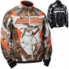 Dp Castle X Bolt Realtree G4 Youth Boys Snowmobile Jackets