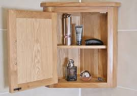 solid oak wall mounted corner bathroom cabinet 601 pertaining to cabinets for bathrooms plan 18
