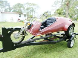 75 rupp centaur red 3 wheel trike cool retro rat rod vintage
