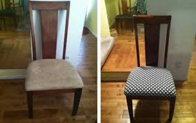 interior delightful recover dining room chairs or how to reupholster a artistic recovering 9
