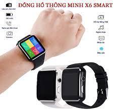 Đồng Hồ Thông Minh Smart Watch X6 Màn Hình Cong cao cấp, Đồng hồ thông minh