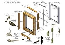 andersen window door parts repair
