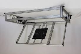Tv Deckenhalter Elektrisch Schwenkbar Klappbar Gruber Systems
