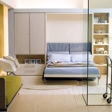 Ulisse Sofa is a wall bed designed in Italy by Clei, available at Resource  Furniture