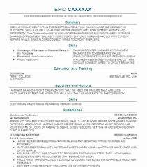 Electrician Job Description Maintenance Electrician Resume Industrial Electrician Maintenance