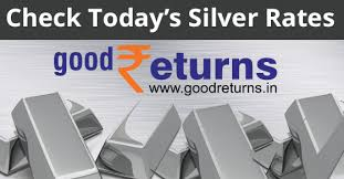 Silver Price Chart Last 6 Months In India Silver Rate Today 13th December 2019 Silver Price In