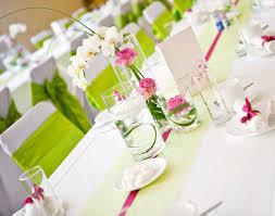 Tisch Deko Fr Hling Hochzeit Rosa Pink