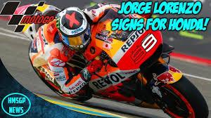 motogp news jorge lorenzo signs for repsol honda