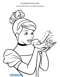 Printable Disney Dot To Dot Coloring Pages Disneyclipscom