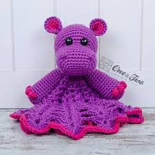 Free Crochet Lovey Pattern Enchanting Ravelry Pip The Hippo Lovey Pattern By Carolina Guzman