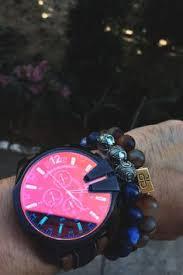 jared movado® men s watch luno™ sport 606378 bullet diesel watch and aurum bracelets