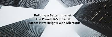 powell 365 powell software announced new partnership sogeti building a better intranet powell 365 intranet reaches new heights microsoft corp