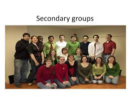 Secondary Group Secondary Groups Ppt Download