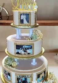 A 50th Wedding Anniversary Cake Mandolis