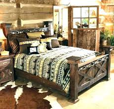 California King Size Bed Frames Rustic King Bed Rustic King ...