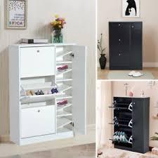 image is loading 80x24x120cm adjule large shoe cabinet draws shelves rack