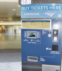 Metrolink Ticket Vending Machine Inspiration Metrolink NewsAlerts The Transit Coalition