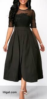 Half Sleeve Pocket Design High Waist Dress Pin On Fashion Dresses