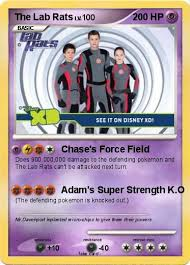 Small Picture Pokmon The Lab Rats Chases Force Field My Pokemon Card