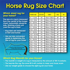 Shetland Pony Rug Size Chart Rug Size Guide