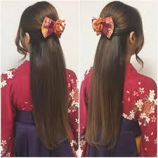 Tomimatsu Kaoriさんのヘアスタイル 卒業式に袴 ロングで