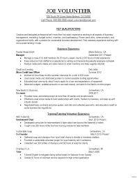 Resume Chronological Format Resume
