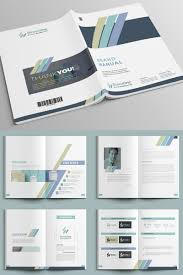 Minimal Brand Manual Indesign Corporate Identity Template