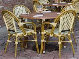 brown set patio source outdoor. Source Outdoor Furniture Paris Aluminum Dining Set Brown Patio E