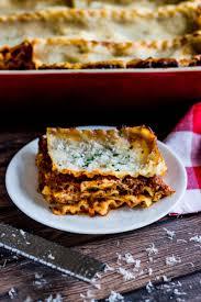 Classic Lasagne Lasagna Bolognese With Bechamel Sauce Brinas Bites