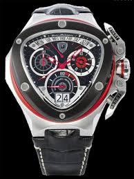 auc accesstime rakuten global market lamborghini lamborghini lamborghini lamborghini chronograph mens watch spyder 3000 3004rs black leather red