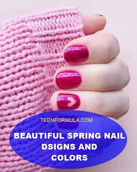 beautiful spring nail designs and colors