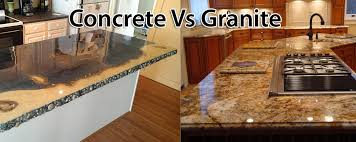 concrete countertops cost vs granite home design concrete countertops cost vs granite