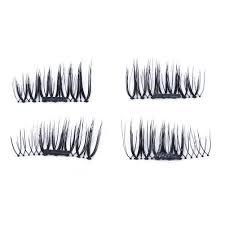 4pcs lot 3d magnetic false eyelashes diy reusable magnet eye lashes m1 351 us 4 99 ping newfrog com